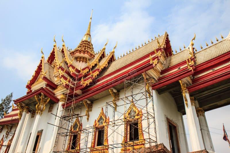Wat佛教寺庙无Kum 库存照片
