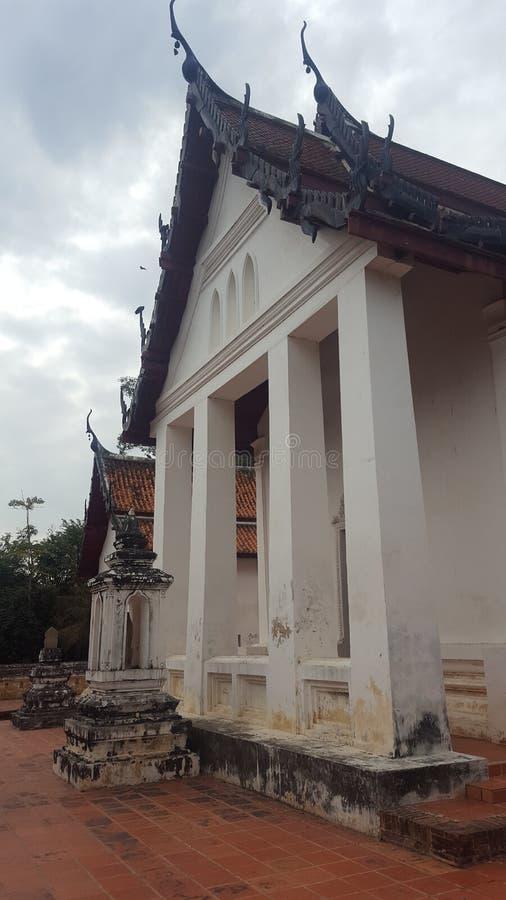 Wat唱歌, Patumthani 免版税库存照片