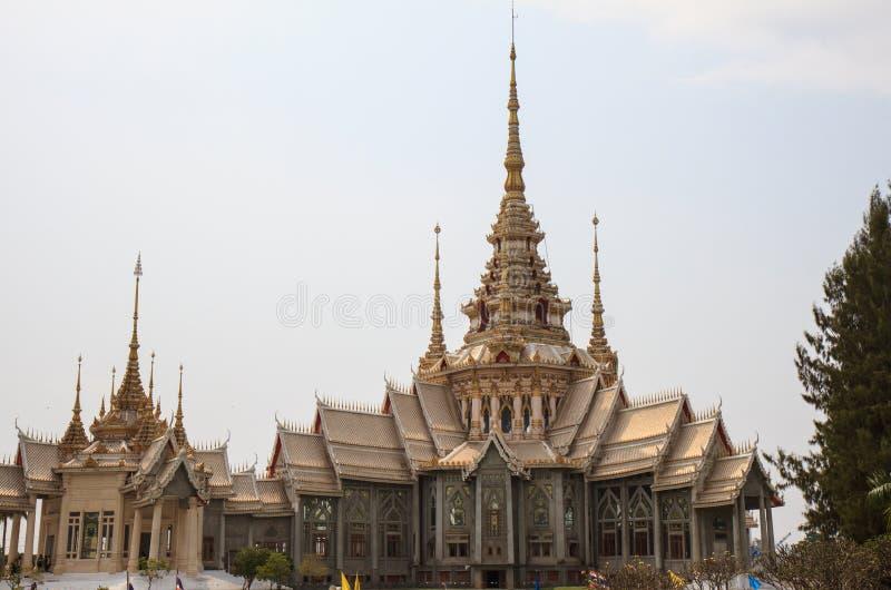 Wat无Kum,泰国 库存照片