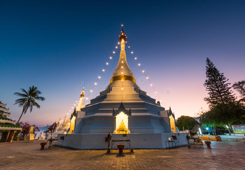 Wat的Phra塔土井孔Mu,泰国 免版税库存图片