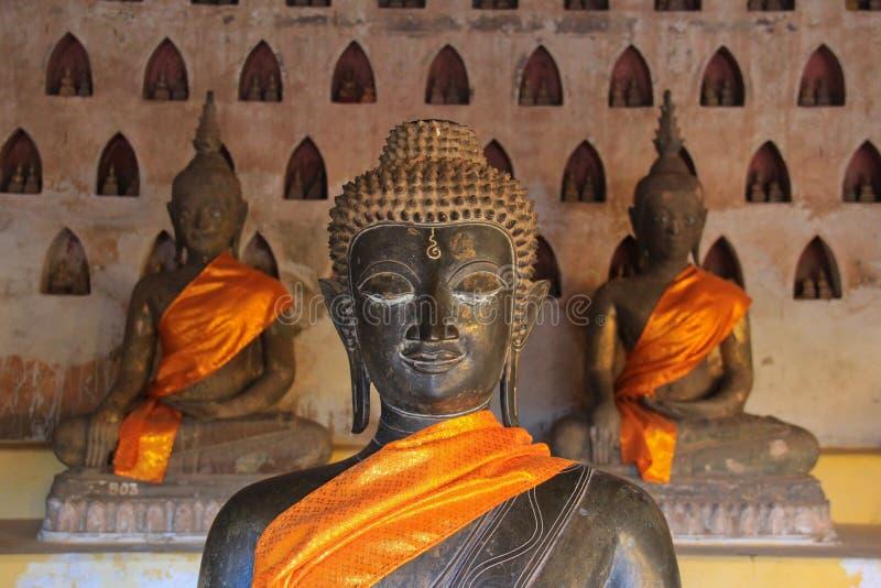 Wat że luang, Laos zdjęcia stock