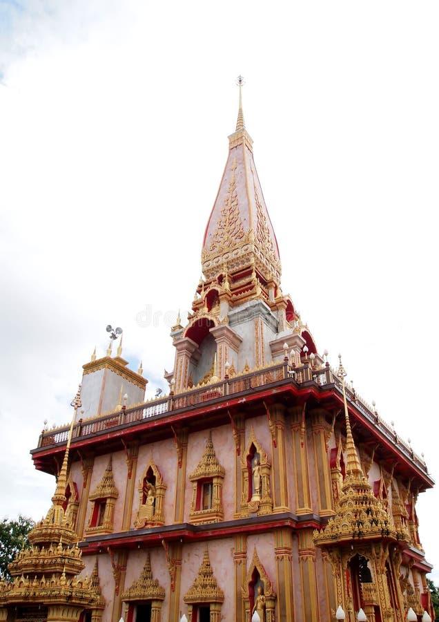 Download Wat Таиланда виска Phuket Chalong Стоковое Фото - изображение насчитывающей шариков, ashurbanipal: 18392642