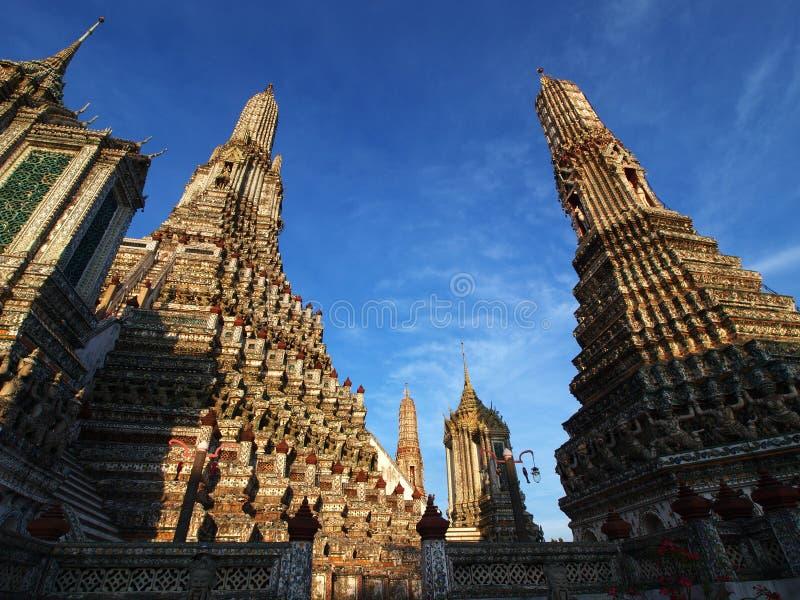 wat Таиланда pagoda bangkok arun стоковое фото