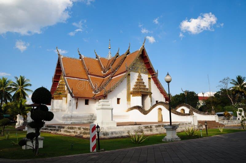 wat Таиланда phumin nan стоковые фото