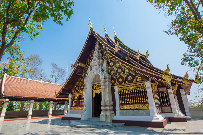 Wat Analayo Thipphayaram imagem de stock royalty free
