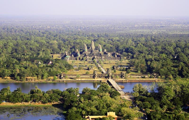 wat angkor стоковое изображение rf