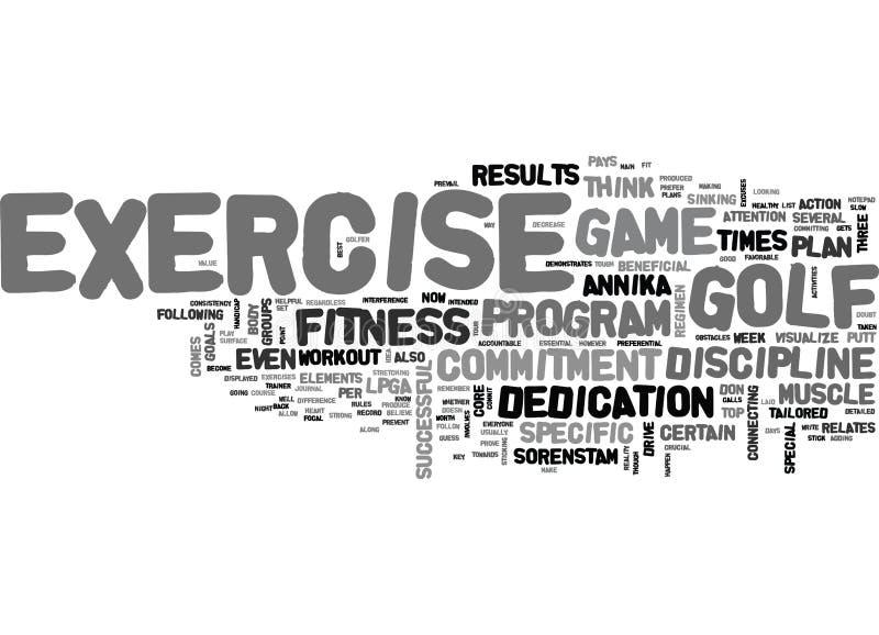 Wat Annika Know About Exercise That u doet trek t-Word Wolk aan royalty-vrije illustratie