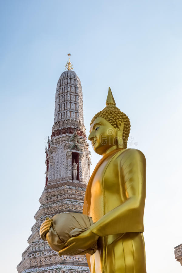 Wat Arun à Bangkok de la Thaïlande photos libres de droits