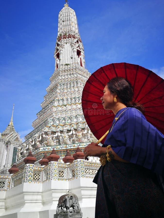 Wat Arun, świątynia świt, Tajlandia obraz royalty free