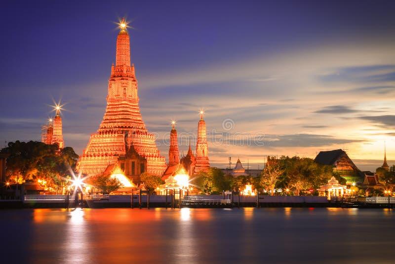 Wat Arun Бангкок Таиланд стоковая фотография rf