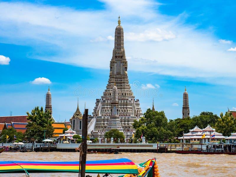 Wat Arun или Wat Chaeng, Бангкок Таиланд стоковое изображение rf
