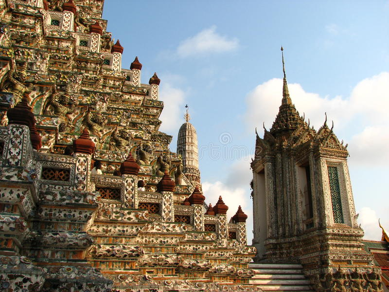 Download Wat Arun stock photo. Image of architecture, design, temple - 14336296