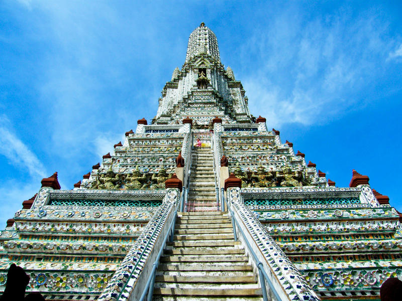 Wat Arun stock photography