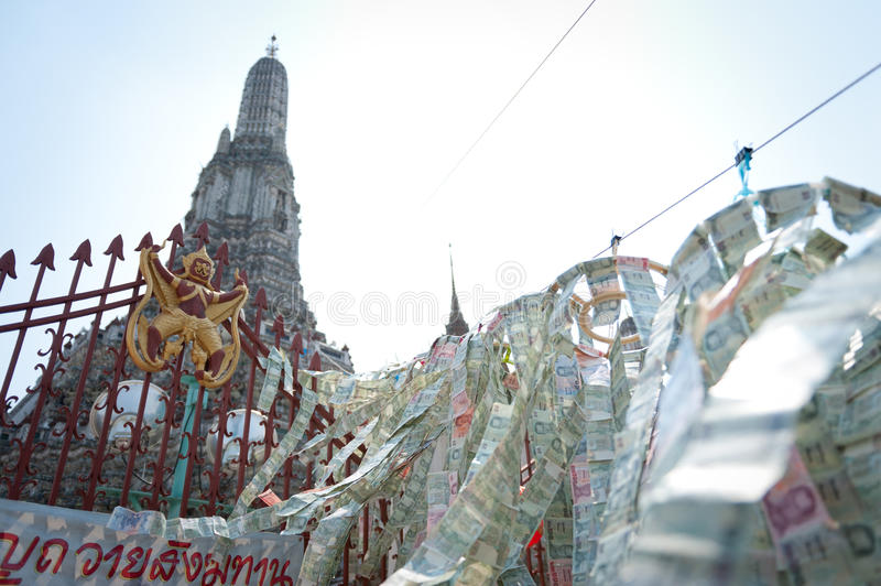 Download Wat Arun stock photo. Image of antique, asia, ornament - 18521538