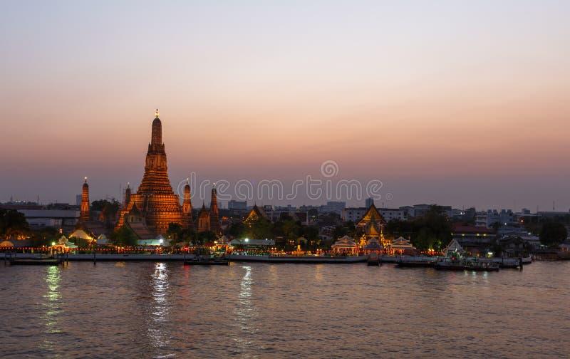 Wat Arun, Bangkok image stock