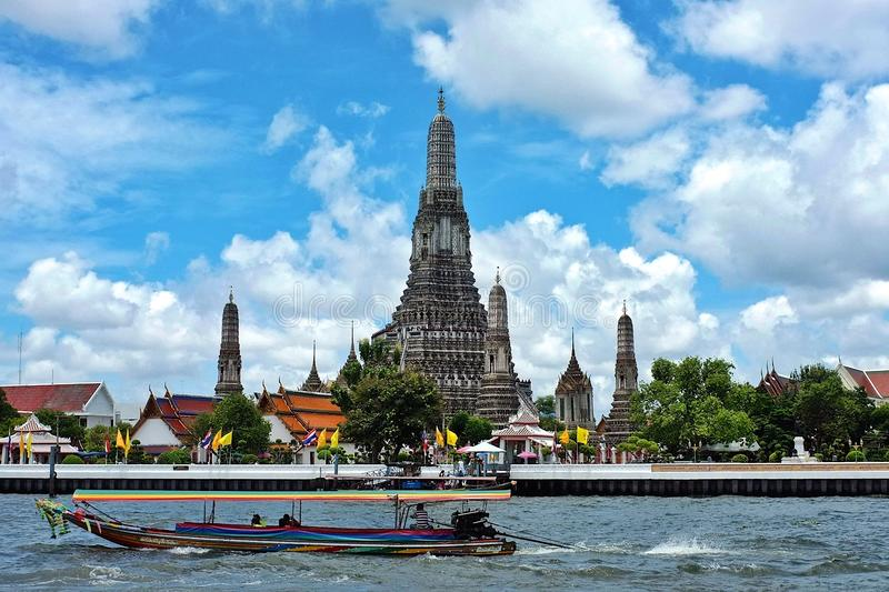 Wat Arun in Bangkok stockbild