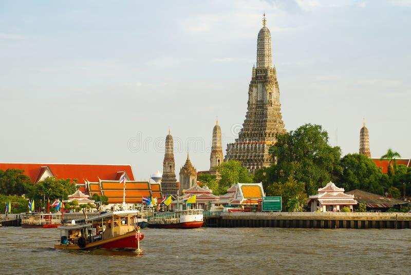 Wat Arun Bangkok images libres de droits