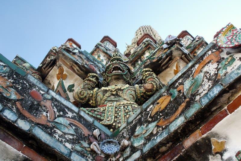 Wat Arun Bangkok stock afbeelding