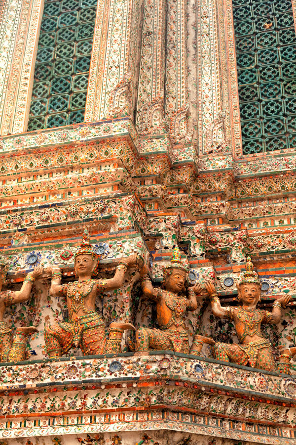 Wat Arun, Bangkok royalty free stock images