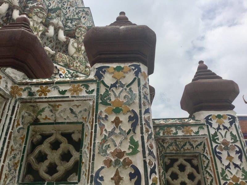 Wat Arun, Bangkok Tailandia fotografía de archivo libre de regalías