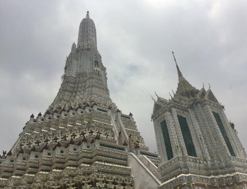 Wat Arun , Bangkok. Wat Arun & x22;Temple of Dawn& x22; is a Buddhist temple & x28;wat& x29; in Bangkok Yai district of Bangkok, Thailand, on the Thonburi west royalty free stock photo
