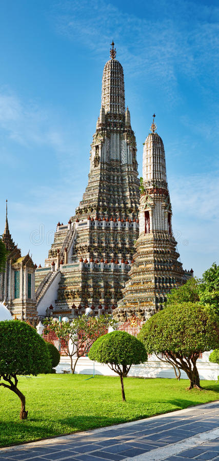 Wat Arun, Bangkok, Thailand stockfotografie