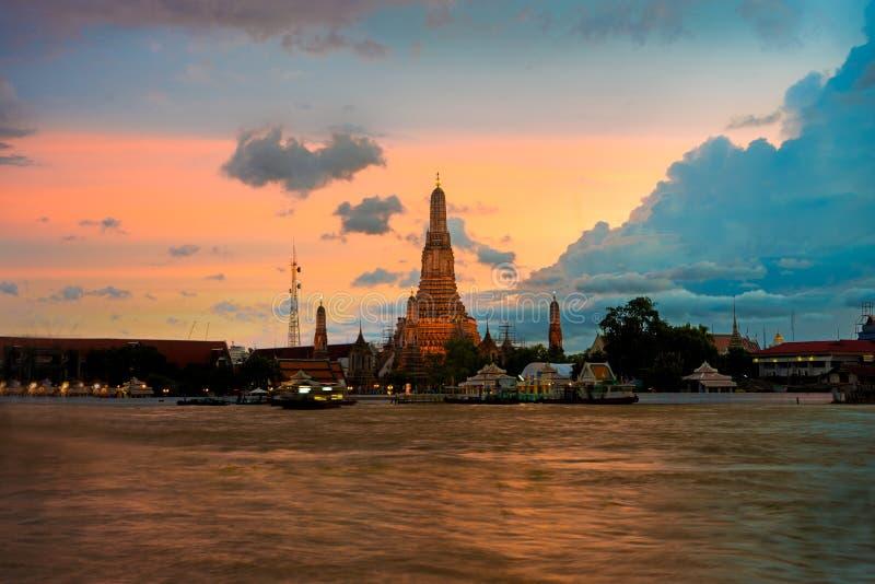 Wat Arun Bangkok Thailand fotografie stock libere da diritti
