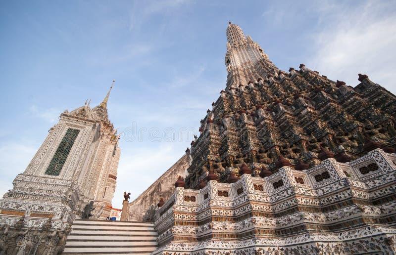 Wat Arun in Bangkok, Thailand stockfotos