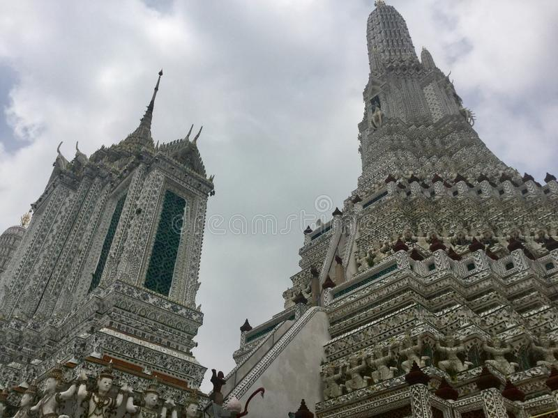 Wat Arun , Bangkok Thailand. Wat Arun & x22;Temple of Dawn& x22; is a Buddhist temple & x28;wat& x29; in Bangkok Yai district of Bangkok, Thailand, on the royalty free stock photo