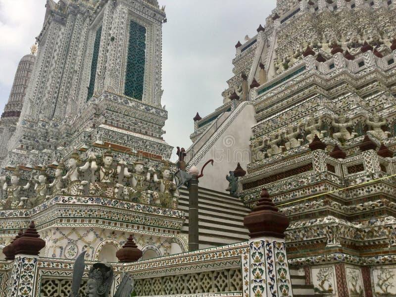 Wat Arun, Banguecoque Tailândia imagem de stock royalty free