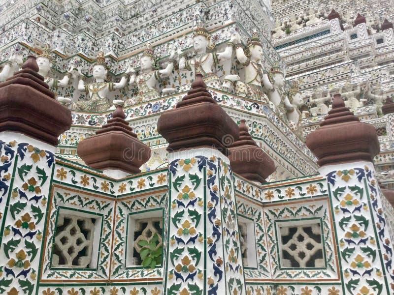 Wat Arun, Banguecoque Tailândia fotos de stock royalty free