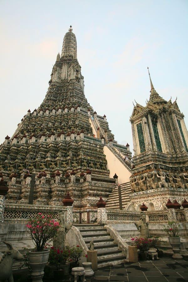 Wat Arun Banguecoque, Tailândia fotografia de stock royalty free
