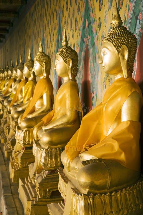 Free Wat Arun Buddhas Royalty Free Stock Images - 2077479