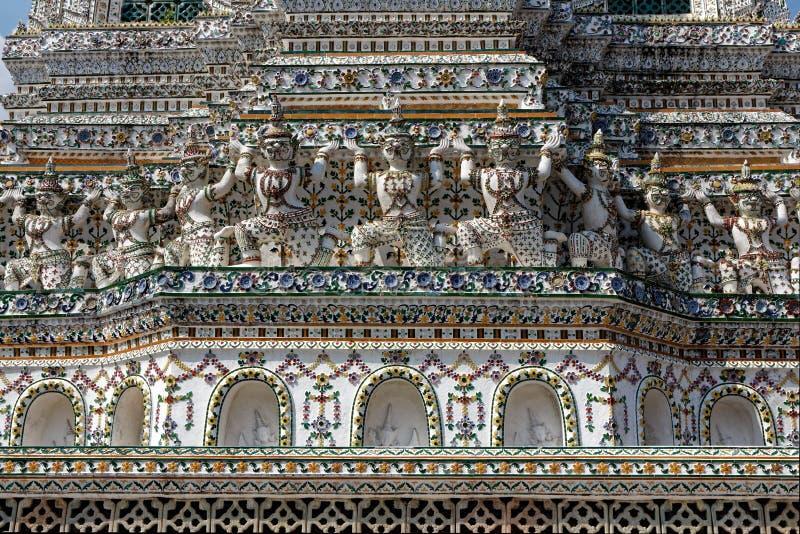 Wat Arun, buddyjska świątynia w Bangkok fotografia royalty free