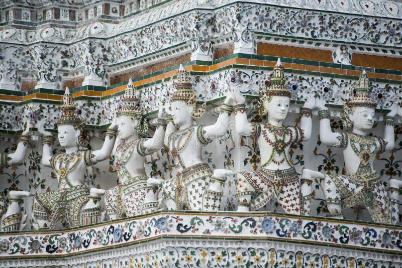 Wat Arun de Tailândia Banguecoque fotos de stock royalty free