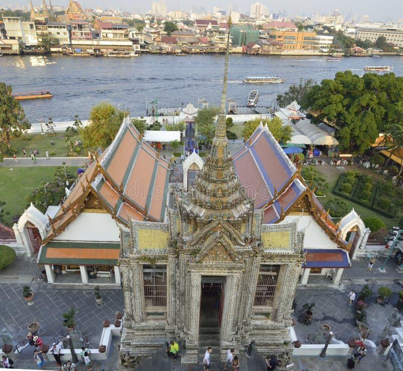Wat Arun em Banguecoque foto de stock royalty free
