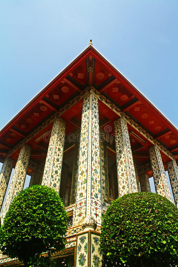 Wat Arun Montag DOP Putthabat stockfoto