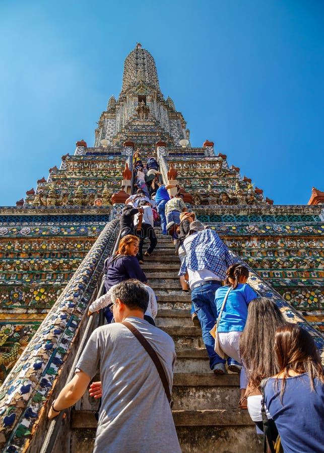 Wat Arun - o Temple of Dawn em Banguecoque imagem de stock royalty free