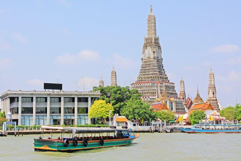 Wat Arun Riverside, Banguecoque, Tailândia fotos de stock