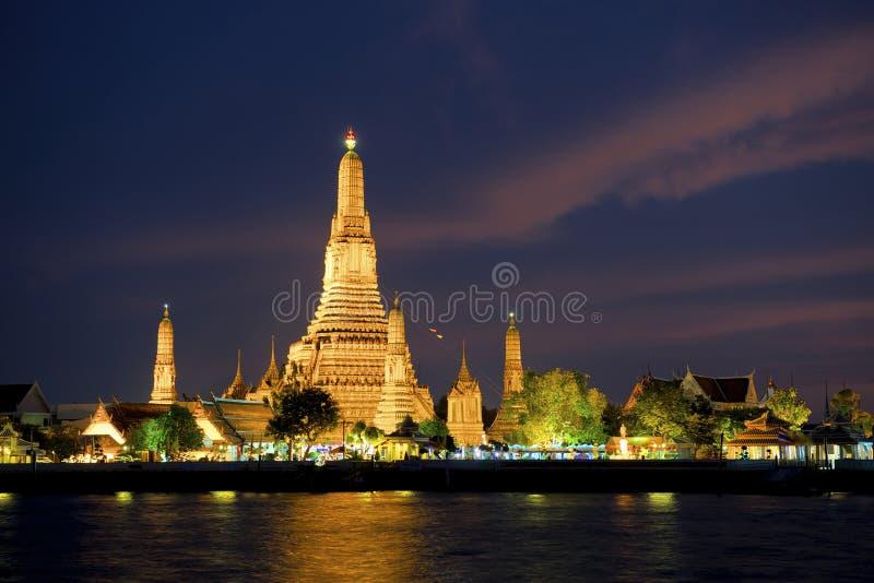 Download Wat Arun at Songkran stock image. Image of culture, destinations - 24342873
