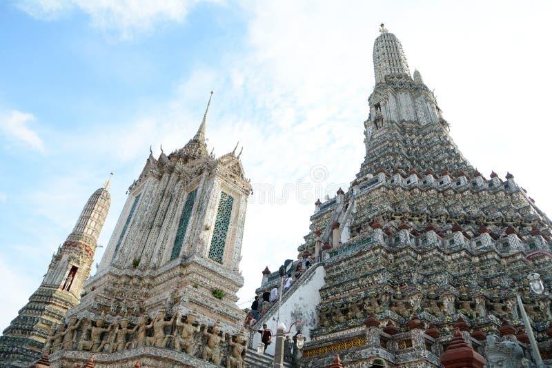 Wat Arun Stupa imágenes de archivo libres de regalías
