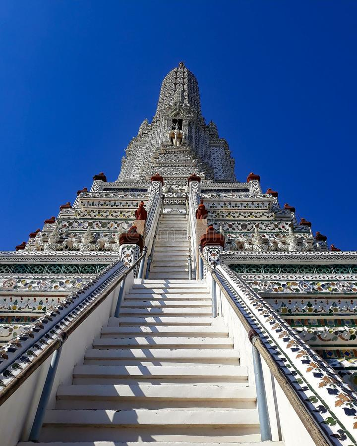Wat Arun Tailândia fotografia de stock royalty free