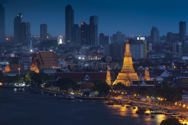 Wat Arun tempel fotografering för bildbyråer