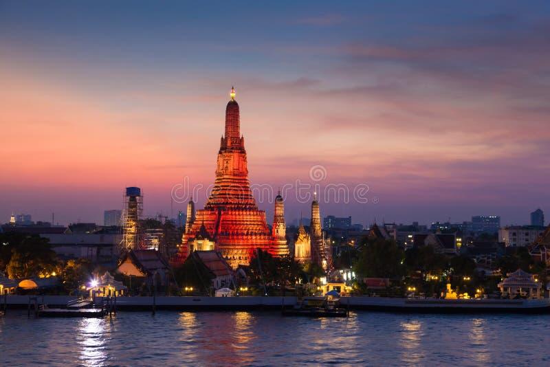 Wat Arun tempel arkivfoto