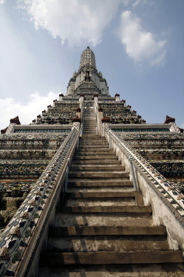 Wat Arun Temple stock images