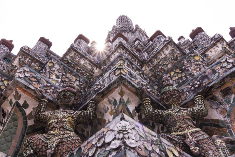 Wat Arun Temple foto de archivo libre de regalías