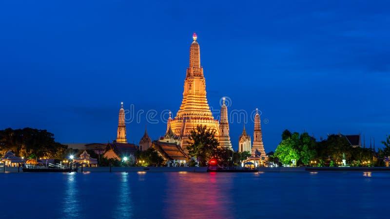 Wat Arun temple in Bangkok. royalty free stock photos