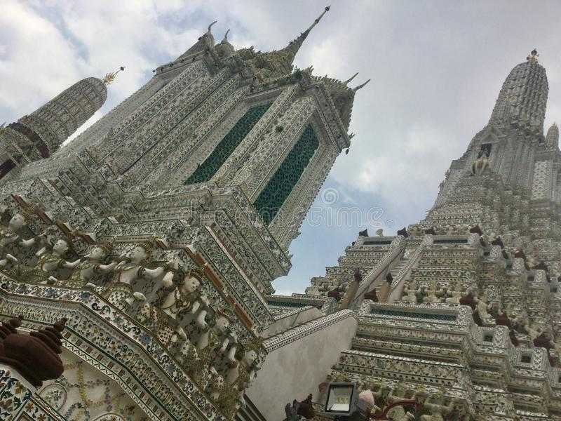 Wat Arun , Bangkok Thailand. Wat Arun & x22;Temple of Dawn& x22; is a Buddhist temple & x28;wat& x29; in Bangkok Yai district of Bangkok, Thailand, on the royalty free stock image