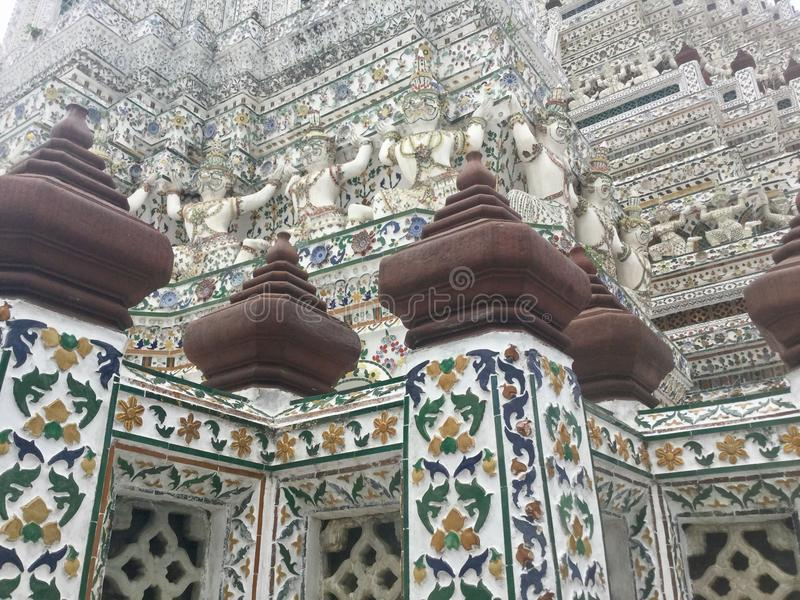 Wat Arun , Bangkok Thailand. Wat Arun & x22;Temple of Dawn& x22; is a Buddhist temple & x28;wat& x29; in Bangkok Yai district of Bangkok, Thailand, on the royalty free stock photography