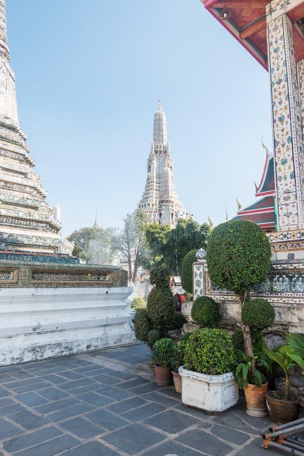 Wat Arun, Temple of Dawn o marco de Tailândia fotografia de stock royalty free